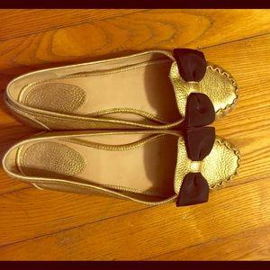 Kate Spade loafers w/ribbon