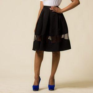 Express Black Size 00 Skirt