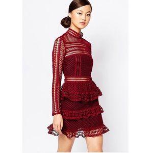 self portrait Dresses & Skirts - Tiered mini dress
