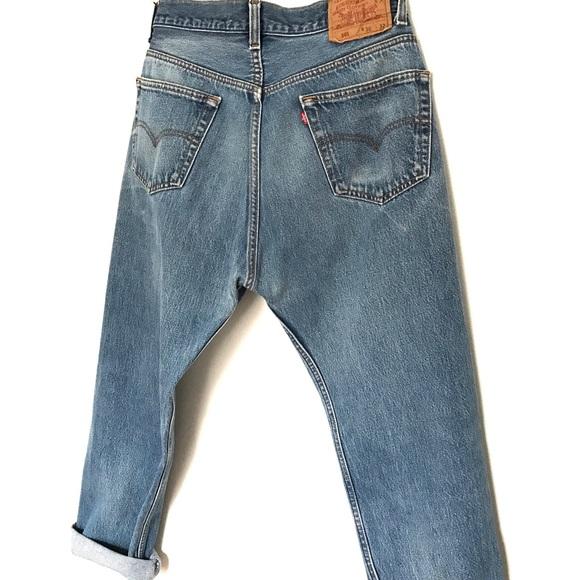 Vintage Jeans - Vintage Levis Denim Boyfriend Jeans