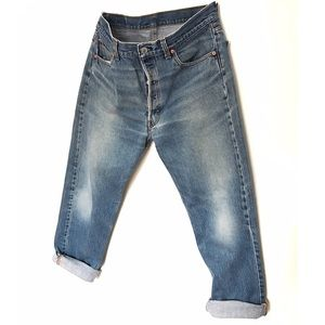Vintage Levis Denim Boyfriend Jeans