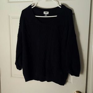 Moving sale, dark blue knit old navy sweater xl