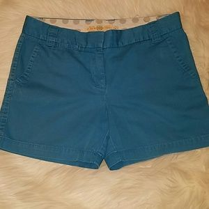 J. Crew Chino Shorts 8 City Fit