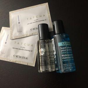Sephora Other - Sephora/Bobbi Brown/Tatcha makeup remover/oil