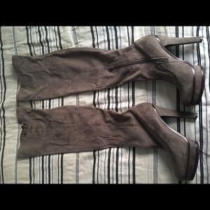 JLo thigh high boots new