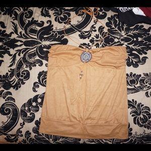 Fashion Nova Tops - Beautiful strapless/ over the neck shirt