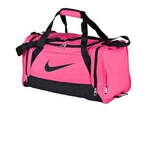 Nike Bags   New Brasilia Small Duffel Bag Pink   Poshmark 17c0c2530a