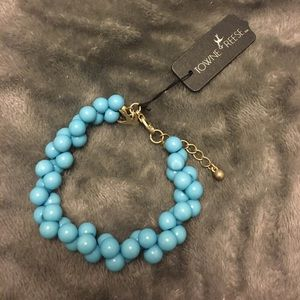 Towne & Reese Jewelry - Turquoise Bracelet NWT