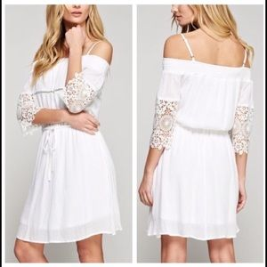 October Love Dresses & Skirts - Oh So Innocent Dress with Lace Sleeves