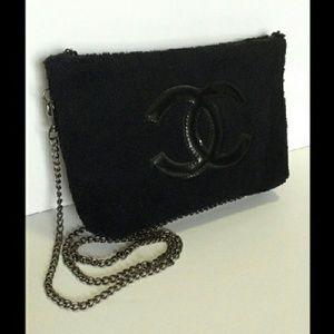CHANEL  Handbags - CHANEL VIP Precision velour hand bag new