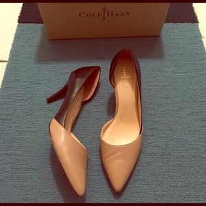 Cole Haan Highline Pump black and nude