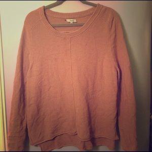 Madewell Tan Sweater