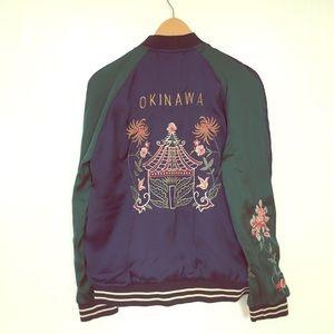 Zara Sukajan-style reversible embroidered jacket