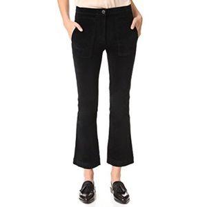 3x1 Pants - 3x1 Black Crop Pants