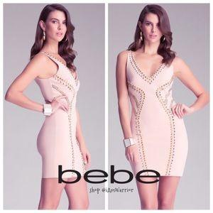 bebe Dresses & Skirts - 🆕NWT Bebe studded mini dress