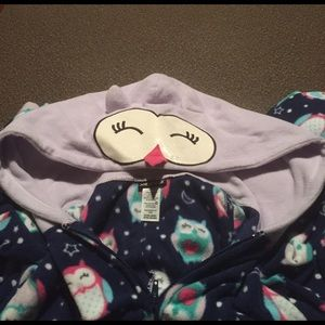 Joe Boxer adult footed onesie pajama