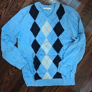 Other - Old Navy Argyle Sweater XL EUC