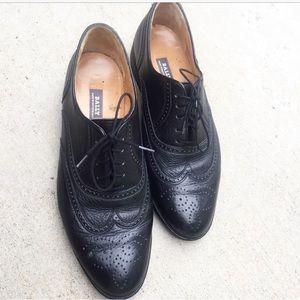 Bally Other - BALLY Black Vintage Oxfords