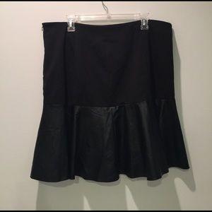 Sejour Dresses & Skirts - Sejour Faux Leather Skirt