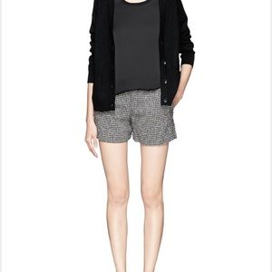 Theysken's Theory Pants - Theyskens' Theory houndstooth shorts