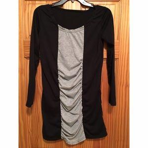 Dresses & Skirts - Black and Gray Dress