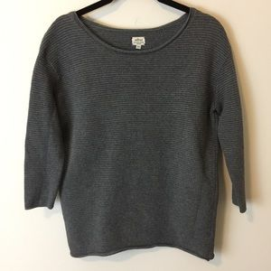 Aritzia Sweaters - Wilfred Aritzia Silk Blend Grey Textured Sweater