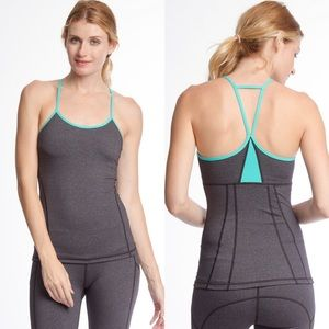 🆕Colorblock Athletic Tank with Strappy Back
