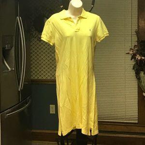 Ralph Lauren polo dress.