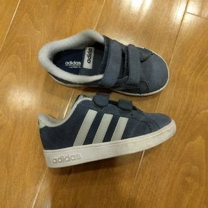 Adidas Other - Boys size 9 blue adidas shoe