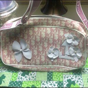 Christian Dior Handbags - Christian Dior Pink Signature Rose Clair Bag