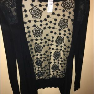 Sweaters - Lace cardigan !