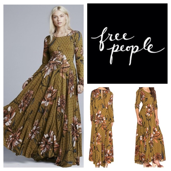 791f31b78d9f Free People Dresses | First Kiss Floral Maxi Dress Nwt | Poshmark