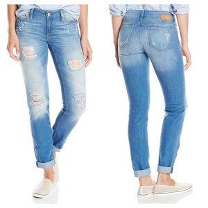 Mavi Denim - Mavi Emma Aqua Painted Skinny Jeans NWT