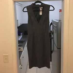 LF Dresses & Skirts - NWT LF store micro suede midi dress with choker S