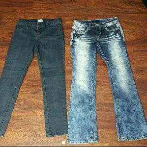Other - Girls Jean Lot Squeeze Children's Place sz 10
