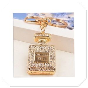 Jeweled Parfum Purse Charm