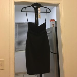 LF Dresses & Skirts - NWT LF store bra top choker slash waist midi dress
