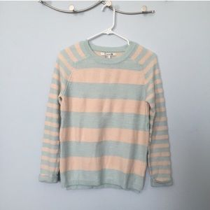 Forever 21 Sweaters - Mint stripe knitted sweater