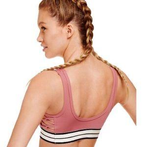 6bc11c0219836 Victoria's Secret PINK Begonia Mauve Sports Bra NWT