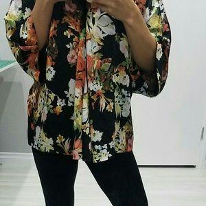 Tops - Silky soft kimono top