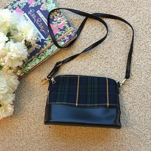 Handbags - Cute Plaid Crossbody Purse