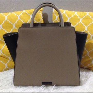 Zac Posen Handbags - Zac Posen All Leather Satchel XL