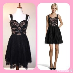 Marchesa Dresses & Skirts - Marchesa Notte $195 NWT Sz 8 Sequined Lace Dress