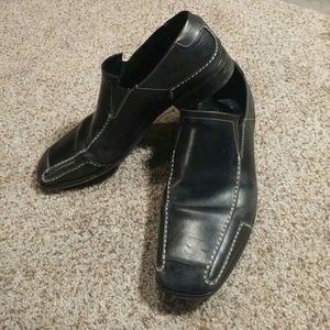 Gordon Rush Other - Gordon Rush Black Leather Loafers