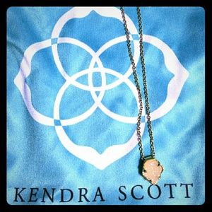 Kendra Scott Jewelry - KENDRA SCOTT White Druzy Charm Necklace
