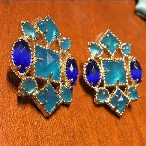 Kendra Scott Jewelry - RARE & CUSTOM Kendra Scott Virginia Studs