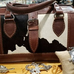 Handbags - High-end Tooled leather and real cowhide purse