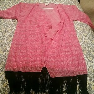 Lularoe Monroe with tassels