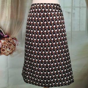 Kasper Dresses & Skirts - Kasper Black & Brown Business Skirt
