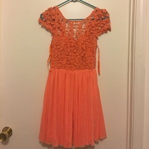 angel biba Dresses & Skirts - Sabo skirt nasty gal crochet top babydoll dress